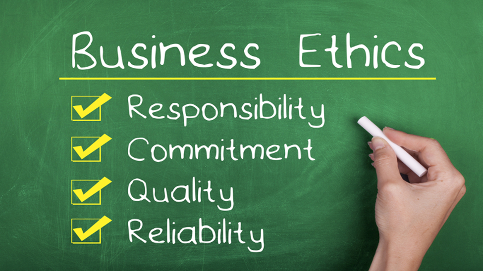 What is business ethics?
